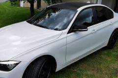 Dach/Spiegelfolierung Carbon BMW