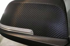 Spiegelfolierung Carbon BMW