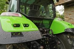Traktorfolierung Deutz