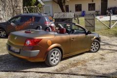 Autovollfolierung Megane Cabrio