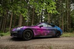 Porsche Vollfolierung Digitaldruck