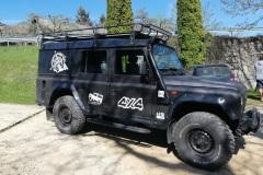 Beschriftung Jeep Kundenwunsch