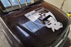 Beschriftung FC Weberwirt