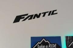 Malschablone für Schriftzug Fantic  Take a Ride