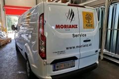 Beschriftung Morianz